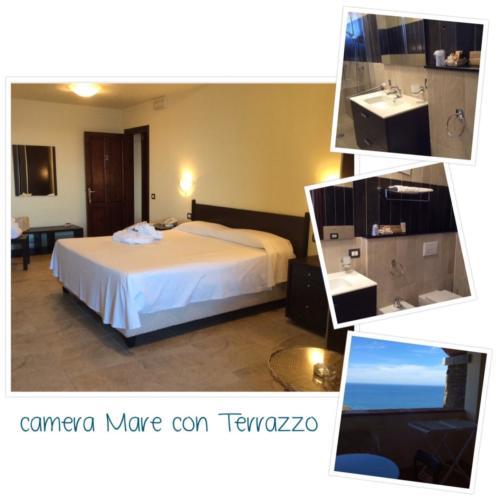 Camera Mare con Terrazzo